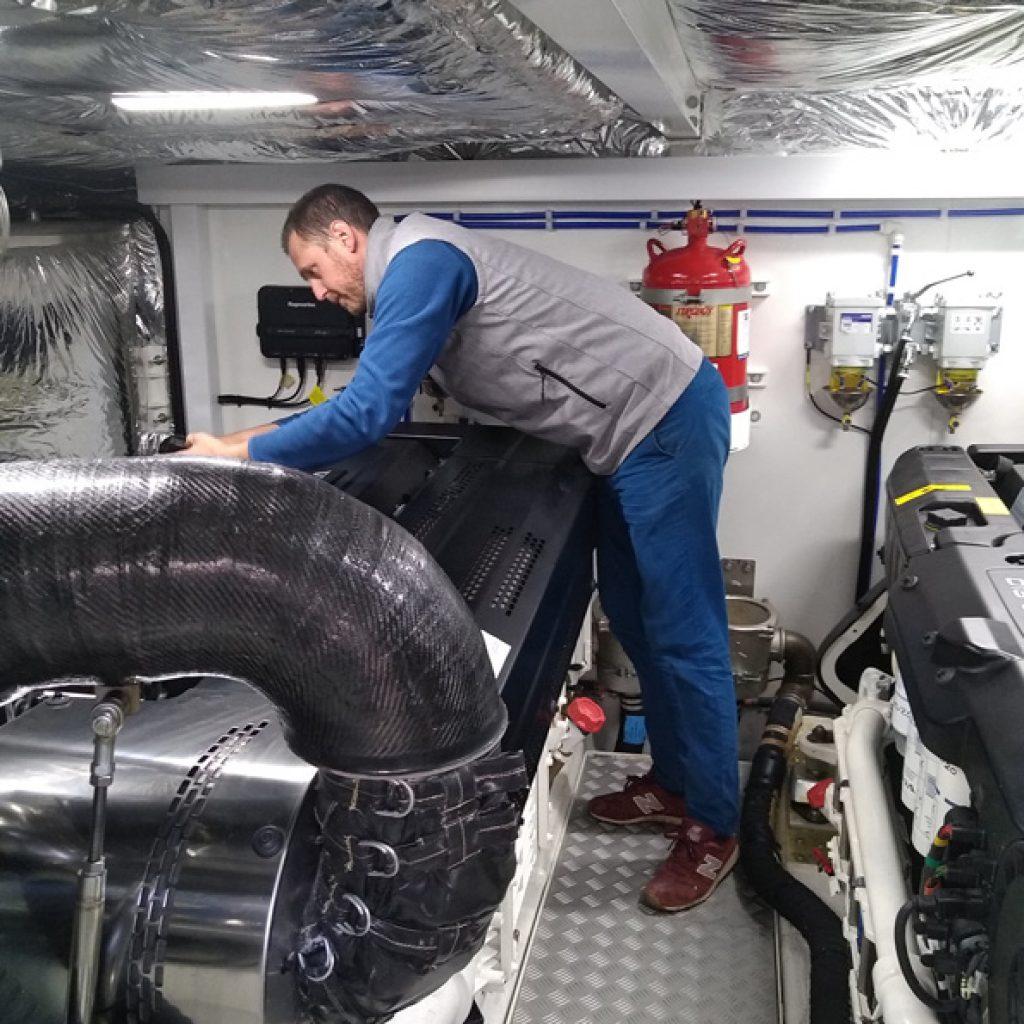 réparation entretien bateau